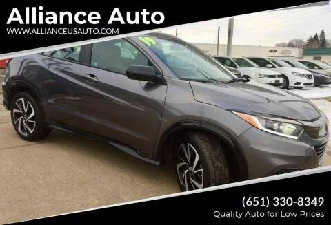 2019 Honda HR-V for sale at Alliance Auto in Newport MN