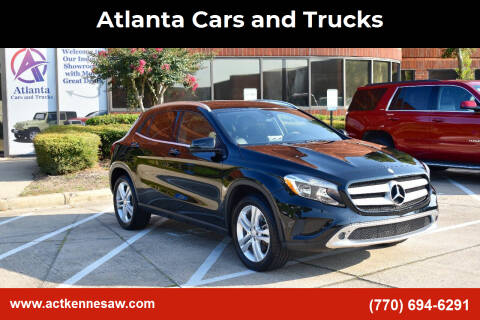 2016 Mercedes-Benz GLA for sale at Atlanta Cars and Trucks in Kennesaw GA