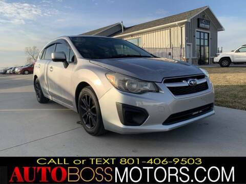 2012 Subaru Impreza for sale at Auto Boss in Woodscross UT