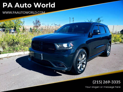 2015 Dodge Durango for sale at PA Auto World in Levittown PA
