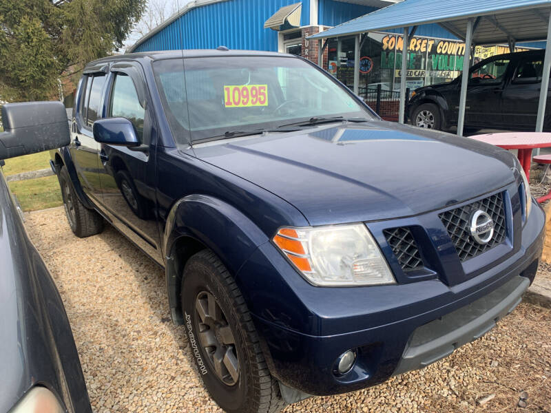 2009 Nissan Frontier for sale at BURNWORTH AUTO INC in Windber PA