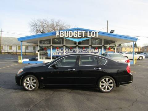 2006 Infiniti M35 for sale at THE BUDGET LOT in Detroit MI