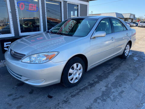 2003 Toyota Camry for sale at Martins Auto Sales in Shelbyville KY