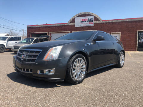 2012 Cadillac CTS for sale at Family Auto Finance OKC LLC in Oklahoma City OK
