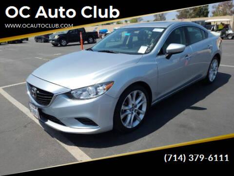 2016 Mazda MAZDA6 for sale at OC Auto Club in Midway City CA