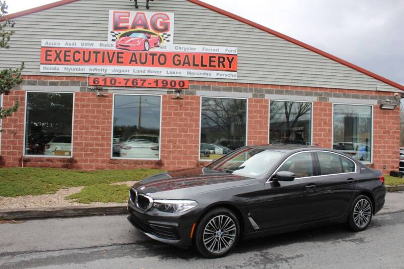 2019 BMW 5 Series for sale at EXECUTIVE AUTO GALLERY INC in Walnutport PA
