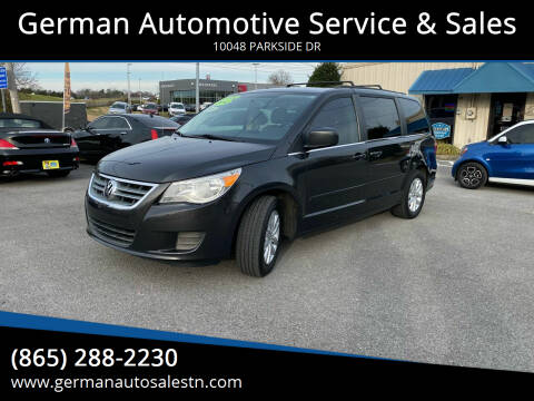 2012 Volkswagen Routan for sale at German Automotive Service & Sales in Knoxville TN
