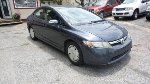 2006 Honda Civic for sale at E-Motorworks in Roswell GA