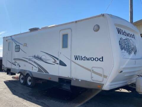 2005 Forest River Wildwood for sale at The Ranch Auto Sales in Kansas City MO