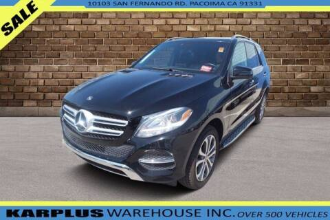 2018 Mercedes-Benz GLE for sale at Karplus Warehouse in Pacoima CA