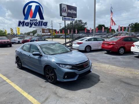 2017 Honda Civic for sale at Auto Mayella in Miami FL