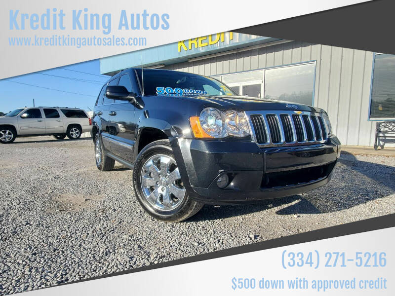 2008 Jeep Grand Cherokee for sale at Kredit King Autos in Montgomery AL