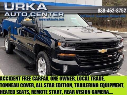 2018 Chevrolet Silverado 1500 for sale at Urka Auto Center in Ludington MI
