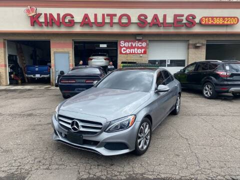 2015 Mercedes-Benz C-Class for sale at KING AUTO SALES  II in Detroit MI