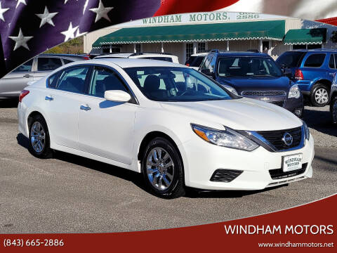 2016 Nissan Altima for sale at Windham Motors in Florence SC