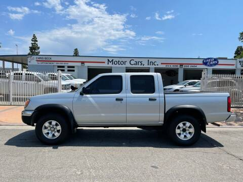 2000 Nissan Frontier for sale at MOTOR CARS INC in Tulare CA