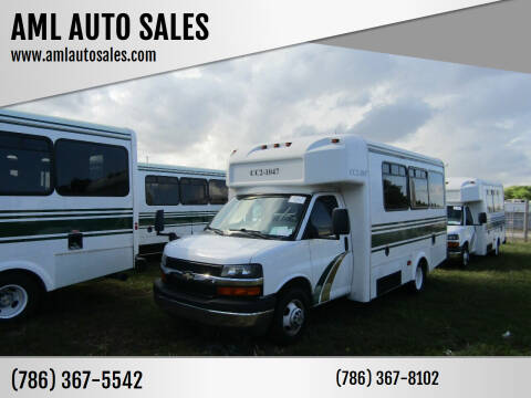 2015 Chevrolet Express Passenger for sale at AML AUTO SALES - Passenger Vans in Opa-Locka FL