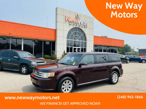 2010 Ford Flex for sale at New Way Motors in Ferndale MI