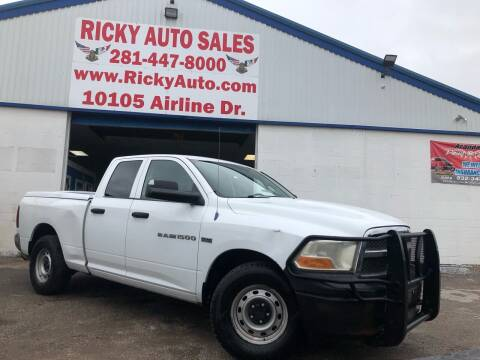 2011 RAM Ram Pickup 1500 for sale at Ricky Auto Sales in Houston TX