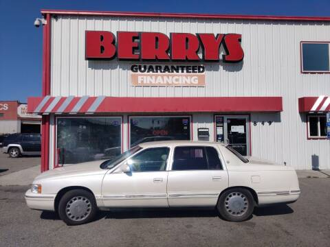 1997 Cadillac DeVille for sale at Berry's Cherries Auto in Billings MT