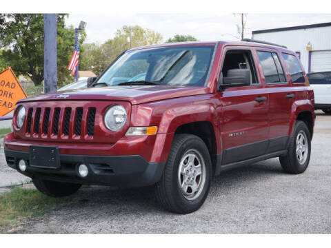 2016 Jeep Patriot for sale at Credit Connection Sales in Fort Worth TX
