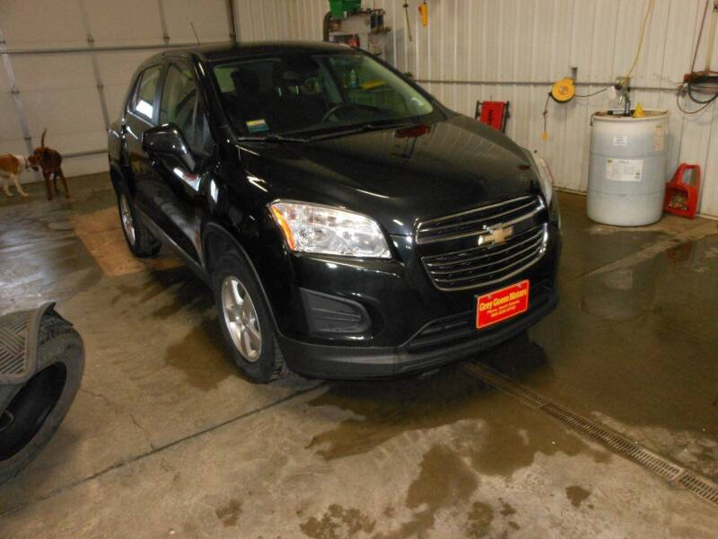 2015 Chevrolet Trax for sale at Grey Goose Motors in Pierre SD