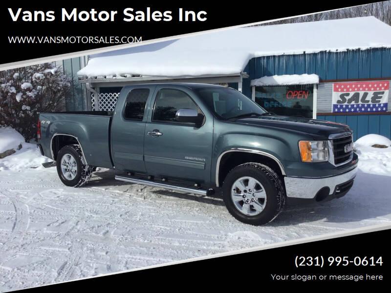 2011 GMC Sierra 1500 for sale at Vans Motor Sales Inc in Traverse City MI
