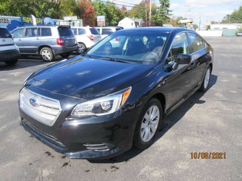 2016 Subaru Legacy for sale at Route 12 Auto Sales in Leominster MA