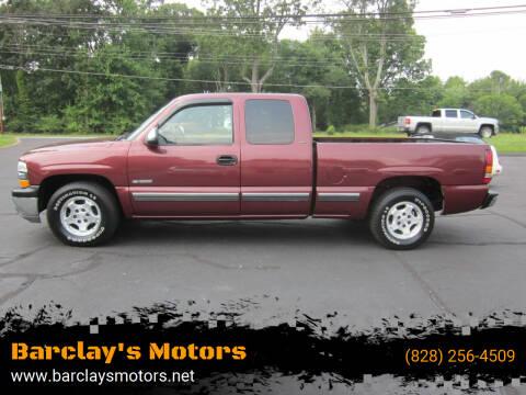 2000 Chevrolet Silverado 1500 for sale at Barclay's Motors in Conover NC