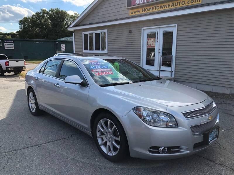 2012 Chevrolet Malibu for sale at Home Towne Auto Sales in North Smithfield RI