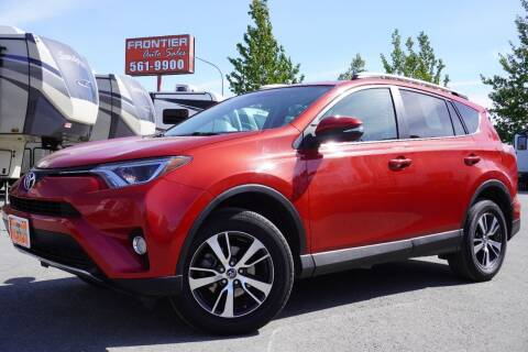2016 Toyota RAV4 for sale at Frontier Auto & RV Sales in Anchorage AK