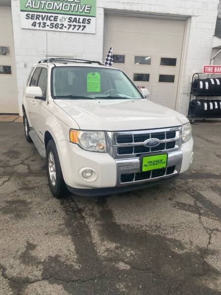 2009 Ford Escape Hybrid for sale at Pikeside Automotive in Westfield MA