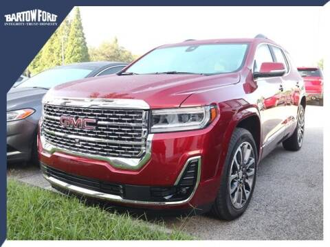 2020 GMC Acadia for sale at BARTOW FORD CO. in Bartow FL