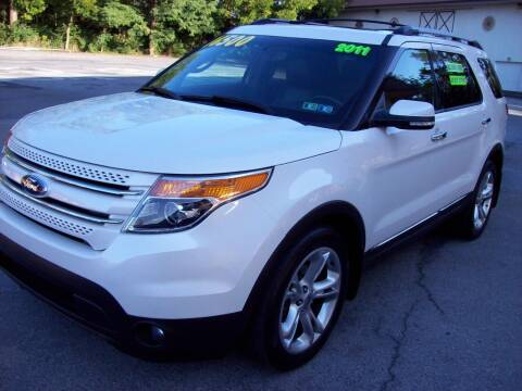 2011 Ford Explorer for sale at Clift Auto Sales in Annville PA