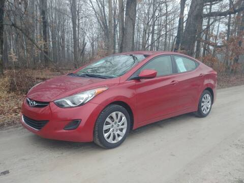 2012 Hyundai Elantra for sale at Doyle's Auto Sales and Service in North Vernon IN