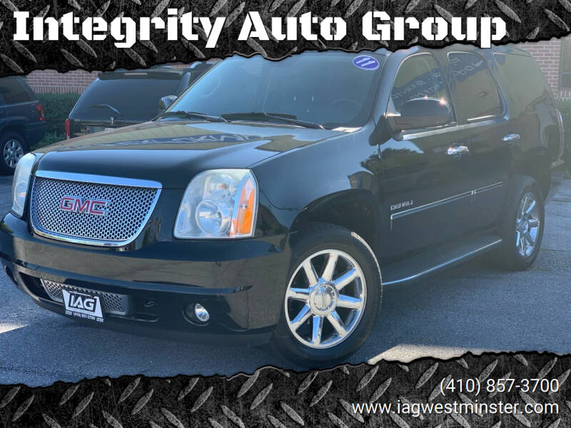 2011 GMC Yukon for sale at Integrity Auto Group in Westminister MD