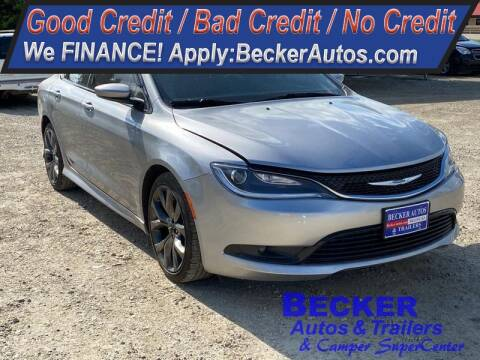 2015 Chrysler 200 for sale at Becker Autos & Trailers in Beloit KS