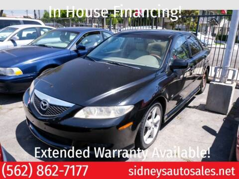 2004 Mazda 626 for sale at Sidney Auto Sales in Downey CA