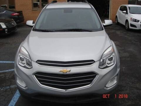 2016 Chevrolet Equinox for sale at Marx Auto Sales in Livonia MI