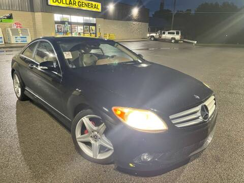 2007 Mercedes-Benz CL-Class for sale at Trocci's Auto Sales in West Pittsburg PA
