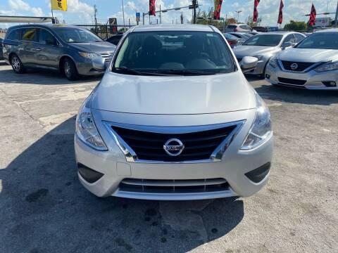 2017 Nissan Versa for sale at America Auto Wholesale Inc in Miami FL