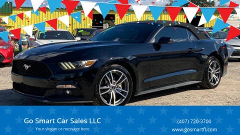 2016 Ford Mustang for sale at Go Smart Car Sales LLC in Winter Garden FL