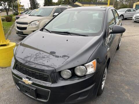 2015 Chevrolet Sonic for sale at RPM AUTO SALES in Lansing MI