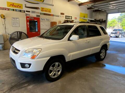 2009 Kia Sportage for sale at Vanns Auto Sales in Goldsboro NC