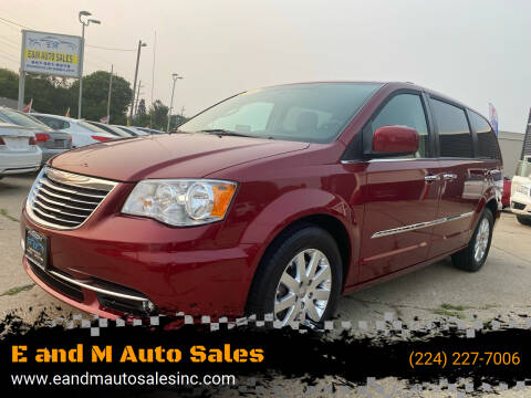 2016 Chrysler Town and Country for sale at E and M Auto Sales in Elgin IL
