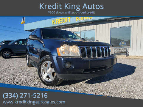 2005 Jeep Grand Cherokee for sale at Kredit King Autos in Montgomery AL