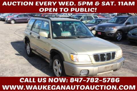 2001 Subaru Forester for sale at Waukegan Auto Auction in Waukegan IL