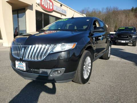 2015 Lincoln MKX for sale at Auto Wholesalers Of Hooksett in Hooksett NH