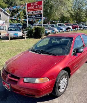 1999 Dodge Stratus for sale at Korz Auto Farm in Kansas City KS