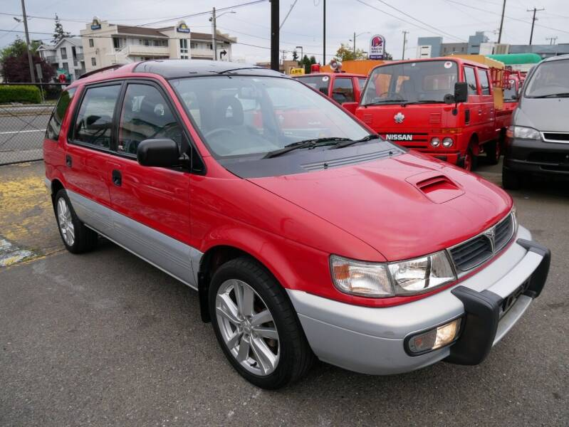 1996 Mitsubishi Chariot 4WD TURBO for sale at JDM Car & Motorcycle LLC in Seattle WA